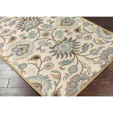 rugs square outdoor 5x8 rug pad allen and roth
