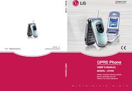 Lg G7030 Users Manual 000000G7030 [ÇÊ ...