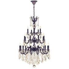 worldwide lighting versailles 25 light flemish brass chandelier with golden teak crystal