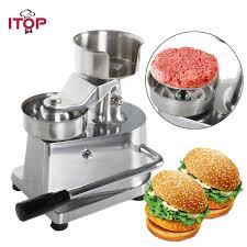 2019 <b>Manual Hamburger Burger</b> Press <b>Patty</b> Maker Meat Patties ...