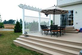 deck privacy screen home depot amusing deck privacy screens screen vinyl fence with decorative pergola top