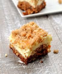 Gluten Free Carrot Cake Cheesecake Bars A Delicious Bar Recipe