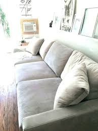 restoration hardware cloud sofa reviews traditional living room with cube modular sectional carpet pendant light