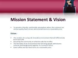 mission statement examples business restaurant mission statement examples business plan cafe dine 2 638