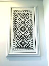 cold air return grilles return air grille decorative wall return air grille decorative wall registers and