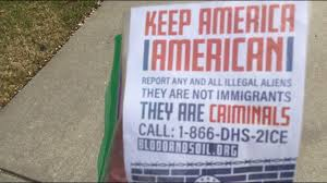 flyers orlando families find flyers asking them to keep america american in