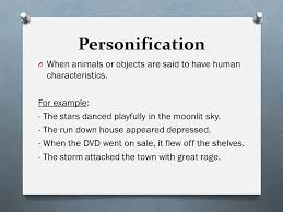 gcse poetry an introduction ppt video online  13 personification