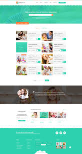 babysitter directory babysitting psd template by diadea babysitter directory babysitting psd template