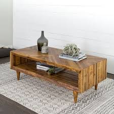 Image Diy Littlebranch Farm Alexa Reclaimed Wood Coffee Table West Elm