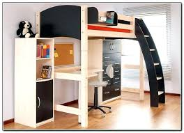 wood bunk bed with desk. Beautiful With Futon Bunk Bed With Desk Full Size Of And S Pi Breathtaking 2 Chair Loft To Wood