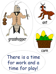 Ant award - Clip art for Aesop's ant and grasshopper fable ...