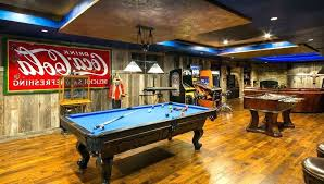 basement pool table. Brilliant Basement Family Game Room Ideas Basement Rustic With Pool Table Tray Ceiling Design R Inside Basement Pool Table