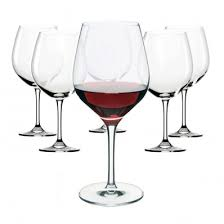 red wine glasses box of 6 12983