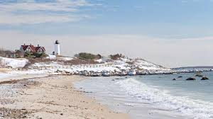 in cape cod during a winter vacation