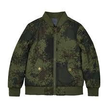<b>Куртка</b>-<b>бомбер</b> двухсторонняя, 3-12 лет хаки <b>La Redoute</b> ...