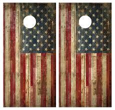 american flag board wrap