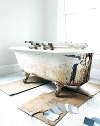 refurbished clawfoot tub refurbished claw foot tubs inspiring refurbished tub bathroom