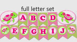Free Printable Banners Free Printable Banner Letters Pink Download Them Or Print