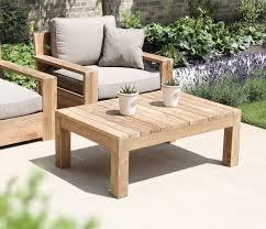 reclaimed teak outdoor coffee table
