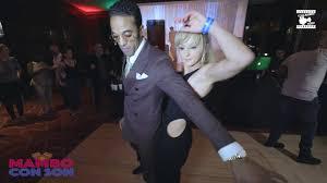 Maykel Fonts & Carolin - social dancing @ MAMBO CON SON 2020 - YouTube