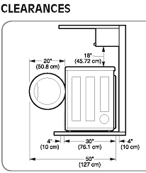 washer and dryer sizes. Brilliant Washer Stackable Washer Dryer Heights Home Design Ideas With Height Idea 12 For And Sizes I