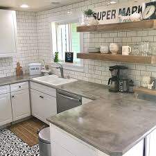 kitchen countertops. Delighful Kitchen I Like This 30 Best Ideas About Living Rooms With White Brick Walls And Kitchen Countertops J