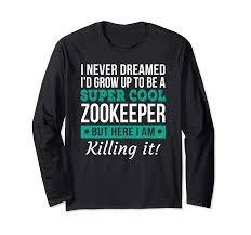 zookeeper shirt. Simple Zookeeper Funny Super Cool Zookeeper Shirt Giftprm  With