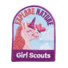 Explore Nature <b>Unicorn Iron</b>-<b>On</b> Patch | Girl Scout Shop