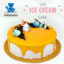 Gelatomio 1kg Whole Gelato Ice Cream Cake Free Delivery 11street