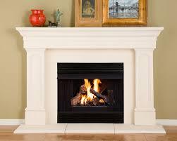 48u0027u0027 Princeton Unfinished Fireplace Surround By Pearl Mantels Fireplace Mantel