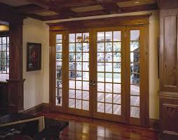 interior wooden french door