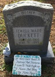 Ruth Jewell Wade Duckett (1901-1993) - Find A Grave Memorial