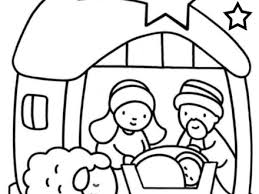 Small Picture XMAS COLORING PAGES Baby Jesus Manger Coloring Page Powered by