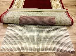 hard floor rug anti slip underlay non
