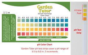 Water Test Chart Soil Ph Testing And Amending Garden Tutor