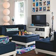 teenage lounge room furniture. Trendy Furniture Decor Ideas For Teen Living Room By Pbteen, Best Of Room, Teenage Lounge E