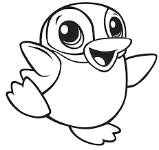 Your kids will have a fun time. Cute Baby Penguin Coloring Page Free Printable Coloring Pages For Kids