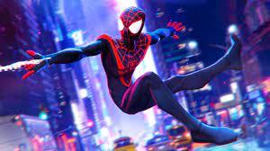 3D Miles Morales, HD Superheroes, 4k ...
