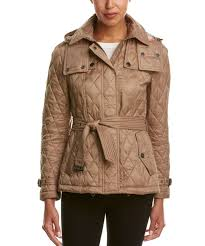 Burberry Burberry Quilted Trench Jacket With Detachable Hood ... & Burberry Burberry Quilted Trench Jacket With Detachable Hood Adamdwight.com