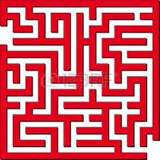 Resultado de imagen para laberintos rojos