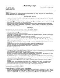 Basic Case Manager Resume