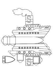 Boot Kleurplaat Cool Boot Piratenboot Kleurplaat Dwacme