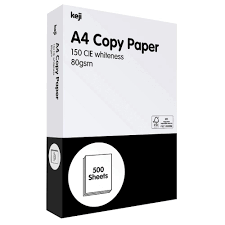 Paper One Premium Copier A    gsm       Ream   Fulton Paper