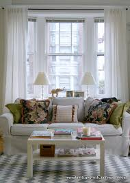 san francisco living room couch in front of bay window like the couch but