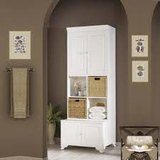 tall bathroom storage cabinets. Chic White Bathroom Storage Cabinet Tall With Laundry Beach Cabinets N