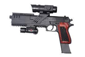 Super Bb Gun With Laser And Torch Light Bb Gun