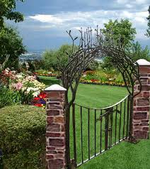 Small Picture Garden Design Garden Design with garden gates with trellis