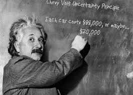 reuters uses fuzzy math to report on chevy volt profitability einstein s volt calculation