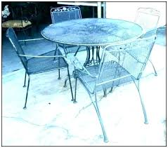 white round patio table wrought iron patio table and chairs rectangular outdoor furniture s white coffee