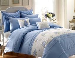 320 laura ashley 3pc set king duvet king shams embroidery emma cotton blue